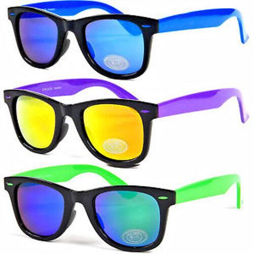 EyeLevel Salisbury Unisex Festival Sunglasses - Blue, Purple or Green Frame
