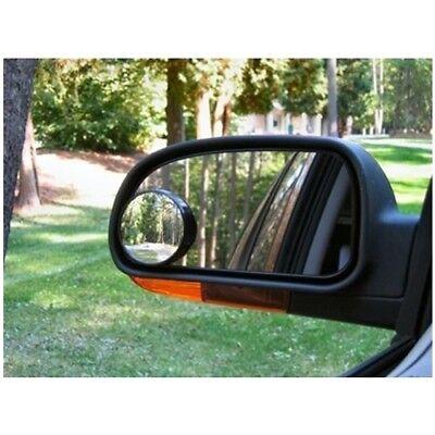 Convex BLIND SPOT MIRROR Towing Reversing Driving SELF-ADHESIVE Car Van Bikes x2