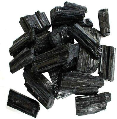1//2 lb Black Tourmaline Raw Haystack Natural Schorl Rough Crystal Chakra Healing