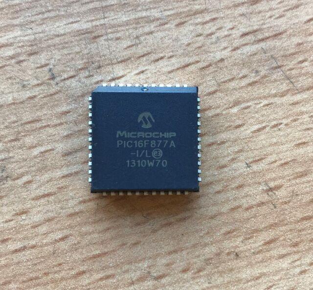 Microchip PIC16F877A-I/L 8Bit Microcontroller MCU 44PIN