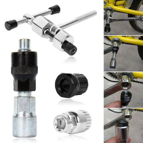 4PCS Bicycle Repair Tools Kit Crank Chain Axis Extractor DIY Bike Removal Set CA