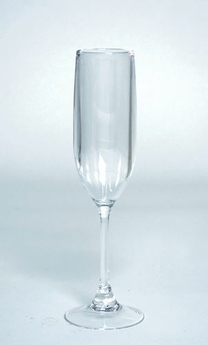 Plastic Champagne Flutes Plastic Glasses Wedding Toasting Flutes 6 ozs. Set of 4