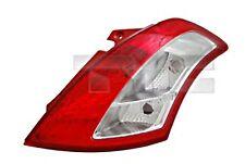 TYC Tail Light Rear Lamp Fits Left SUZUKI Swift Hatchback 2010-