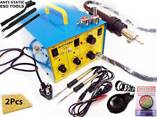 3 in 1 Quick 900 SMD Rework Station & Micro Soldering iron With Dc Out Put