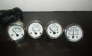 Allis-Chalmers-WD45-D15-D17-D19-Temp-Oil-Amp-Fuel-gauge-kit