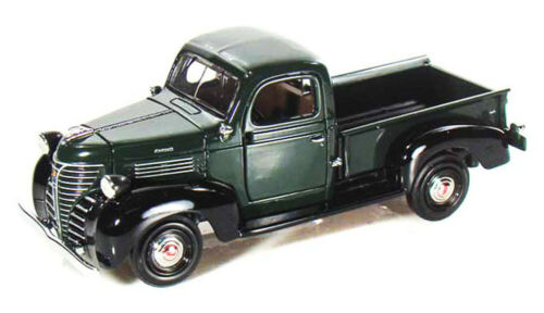 1941 Plymouth Pickup Truck Green Motormax 73278 1//24 Scale Diecast Model Toy Car