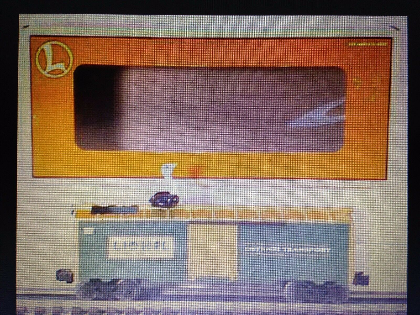 Lionel-O-027-Scale-Wildlife-Park-Animated-Bobbing-Ostrich-Boxcar new in the box