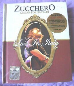 M-2-CD-2-DVD-ZUCCHERO-SUGAR-FORNACIARI-LIVE-SAN-SIRO-IN-ITALY-EXTRA-2008-NEW