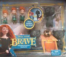 Disney pixar Brave Transforming Triplets merida turn brothers into bear cubs new