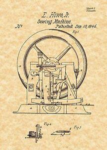 sewing machine in 1846