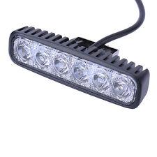 6'' 18W Flood LED Light Work Bar Lamp Driving Fog Offroad SUV 4WD Car B