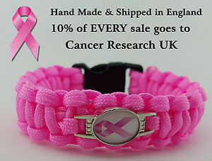 Breast-Cancer-Awareness-Bracelet-Wristband-10-of-All-Sales-Goes-to-Charity