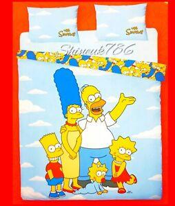 Los-Simpsons-Pantuflas-de-Homero-J-de-Cubierta-de-edredon-reversible-cama-Primark-Hogar-Decoracion