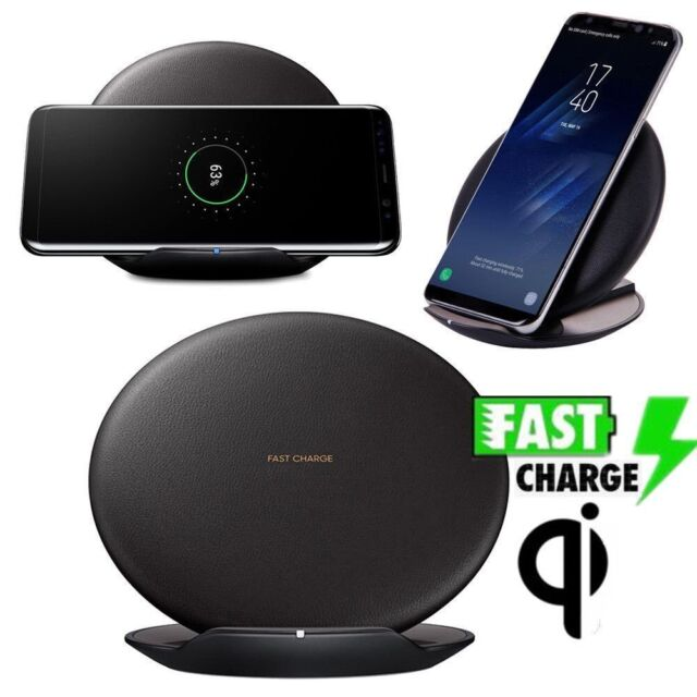 Qi Fast Wireless Charger Rapid Stand EP-PG950 for Samsung Galaxy Note 8 S8 4f59dc7d07