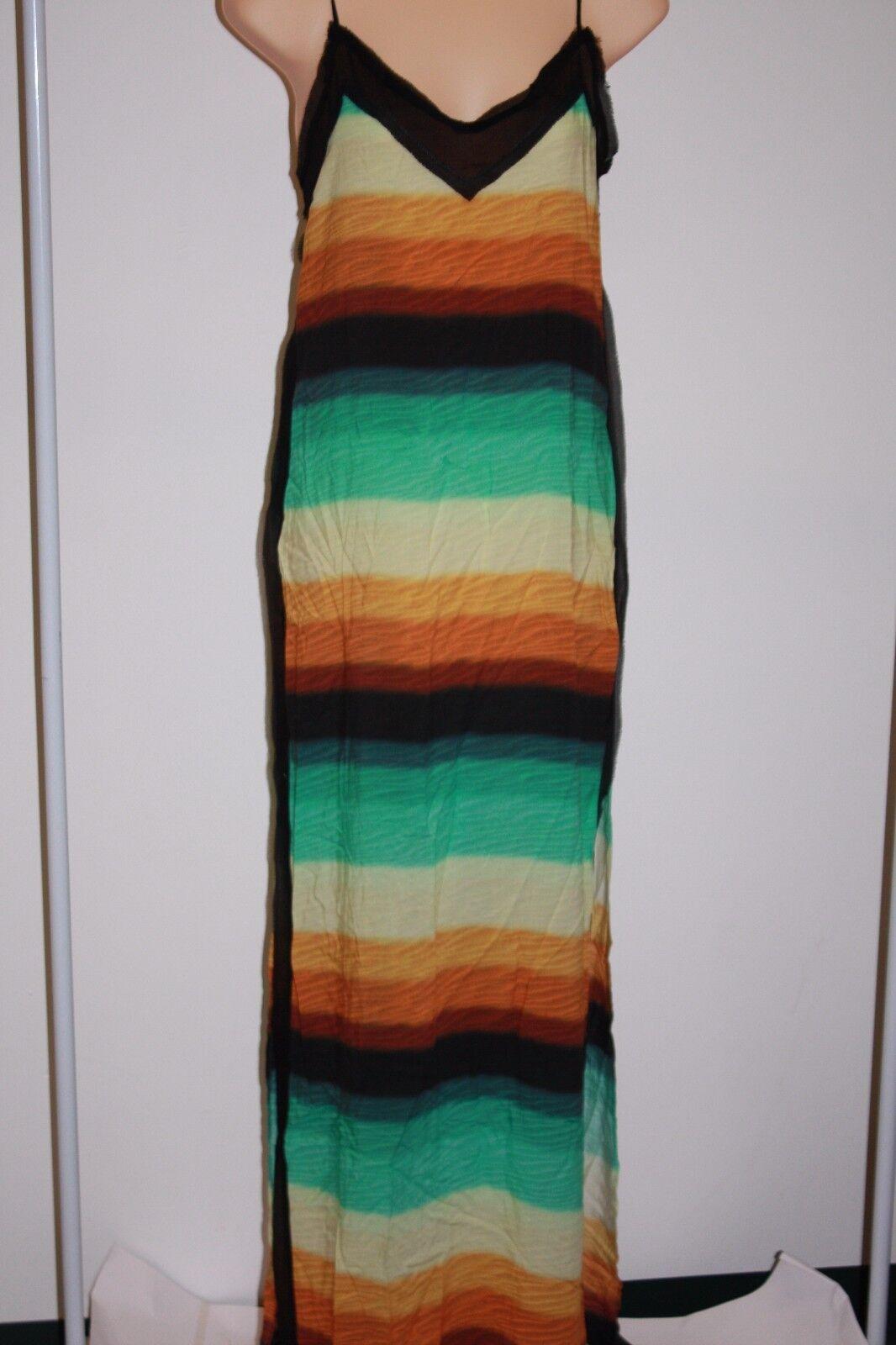NWT Hermanny by ViX Swimsuit Bikini Cover up Delta Nina Long Dress Size XS