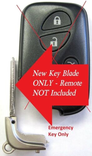 Uncut key blade keyless entry remote blade controller clicker HYQ14ACX fob LX RX
