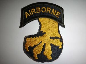 Lot De Armée Américaine 17th Airborne Division Correctifs Ojve6hvd-08004812-822741458