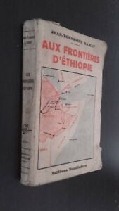 A Las Frontera Etiopía Jean-Toussaint Samat Ed. Baudiniere Pin ABE
