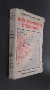 A-Las-Frontera-Etiopia-Jean-Toussaint-Samat-Ed-Baudiniere-Pin-ABE