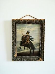 Oil-on-panel-board-young-rider