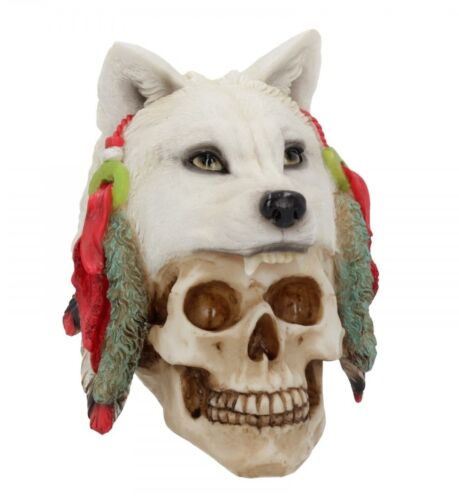New Spirit Hunter 22 cm Crâne Ornement Figurine Gothique Cadeau NEMESIS NOW U4179