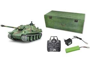 RC-Panzer-Jagdpanther-G-Rauch-Sound-2-4GHZ-Metallketten-Metallgetriebe-23049