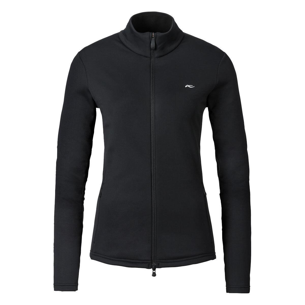 KJUS Damen Fleecejacke Midlayer Calienta Jacket MS25-A03 schwarz