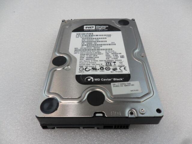 """508027-001 HP 1TB 3G 7.2K RPM SATA 3.5"""" Hard Drive HP Z800 599689-002"""