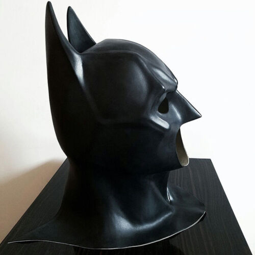 Latex Batman Full Mask With Cowl Adult Cosplay The Dark Knight Rises Batman Mask