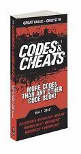 Codes & Cheats Vol. 1 2013: Prima Game Guide-ExLibrary