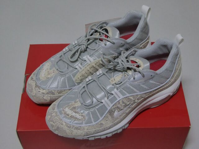 new product 88f7e f553a Nike Air Max 98 Supreme Snakeskin 844694-100 US 10