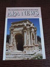 ARA NEWS Association for Roman Archaeology February 2009 Issue 21