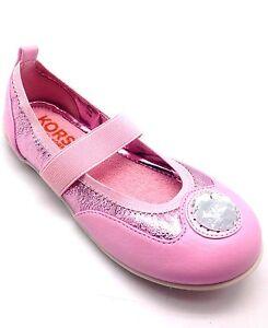 7a708a1e1 New Michael Kors Girls Sunny Casual Shoe Pink Flats Walking Shoes ...