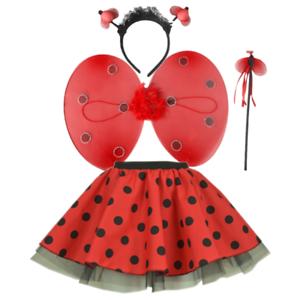 Ladies-Adult-LADYBUG-LADYBIRD-Hen-Party-Costume-TUTU-SKIRT-Accessories-UK