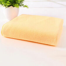 Bath Towel Microfiber Camping Travel Sports Beach Swim Towels Yellow Quick-Dry