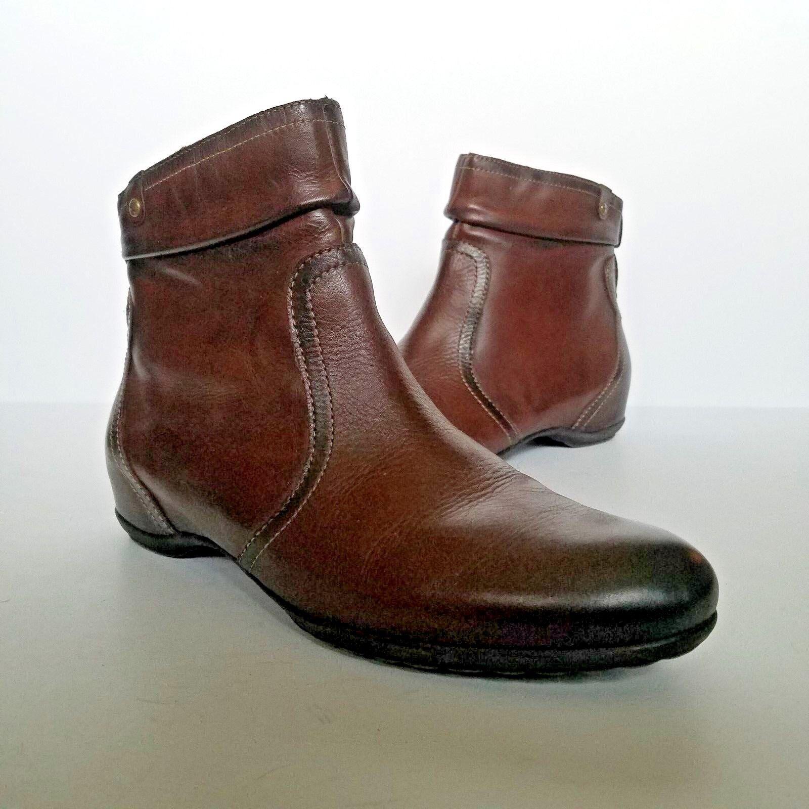 Pikolinos Venezia 968 -7969 donna avvioies Dimensione 10 US 41  EU Marronee Leather Studs  Garanzia di vestibilità al 100%