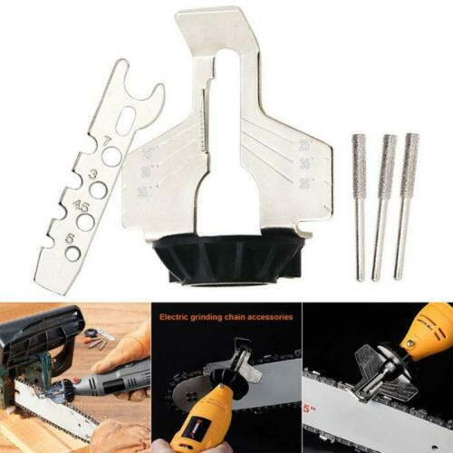 Chainsaw Sharpening Kit Chain Saw Attachment File Grinder Electric Rotary Tool