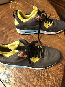 best sneakers d3a72 e972c Image is loading NIKE-AIR-MAX-90-SNEAKERBOOT-NS-Grey-Black-