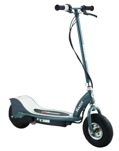 Razor Electric Scooter With Seat >> Razor E300 Electric 24v Motorized Ride On Scooter Grey Used