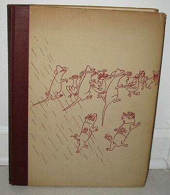 Alexander Calder Three Young Rats Original 1944 Limited Edition 700 HC Drawings