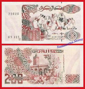 ARGELIA-ALGERIA-200-Dinars-1992-2018-New-SIGN-Pick-New-SC-UNC