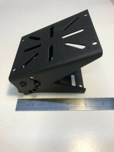 2-Way Radio Floor Mounting Bracket   Universal Hole Pattern  Ships from Canada