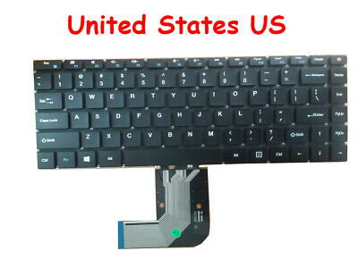 RTDpart Laptop Keyboard For Teclast F7 PLUS XK-HS105 English US Black NO Frame Without Backlit
