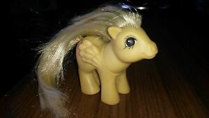 Greece-Greek-G1-Rare-My-Little-Pony-Baby-YELLOW-MEDLEY-by-El-Greco