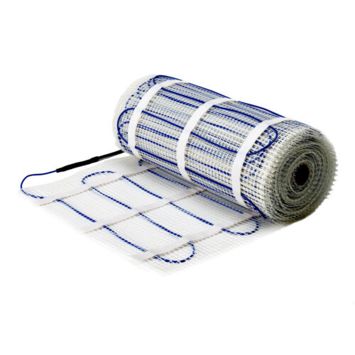SUNSTONE Underfloor Electric Heating Mat 150W//m² Warmup Compatible 1m² to 15m²