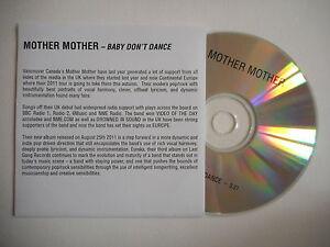 MOTHER-MOTHER-BABY-DON-039-T-DANCE-CD-SINGLE-PORT-GRATUIT