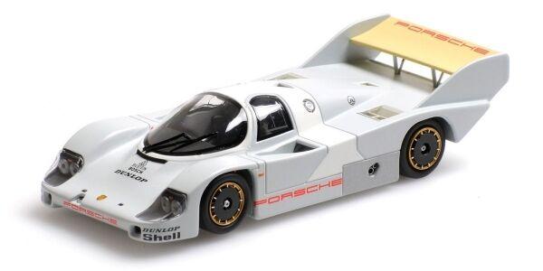 Porsche 956 k weissach   1982 1 43 modell minichamps
