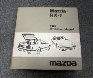 1990 Mazda RX-7 Service Repair Workshop & Wiring Diagrams ...