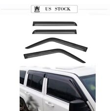 For 07 17 Jeep Patriot 4pcs Smoke Tint Sunrain Guard Vent Shade Window Visors Fits 2012 Jeep Patriot
