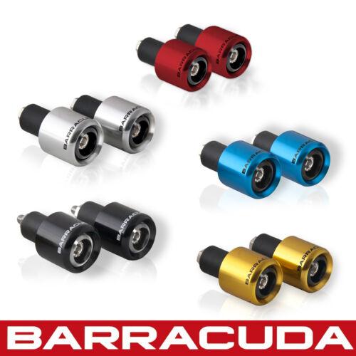 Red Universal Fit Honda CB500F Barracuda Bar Ends